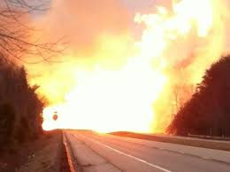 December 2012 Sissonville, West Virginia Natural Gas Line Explosion